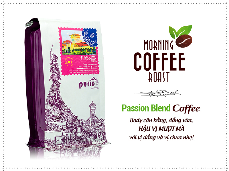 Coffee Passion Blend- Puriocoffee