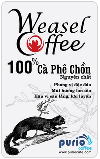 label- puro-weasel-coffee label 200px