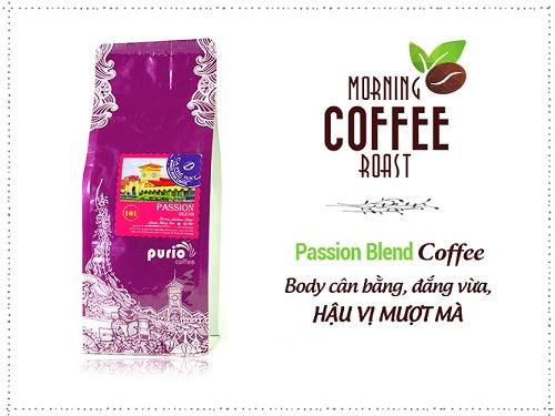 Cà phê nguyên chất rang mộc - PassionBlend-Purio